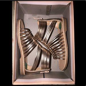 Toddler Size 8C ... Rose Gold Sandals
